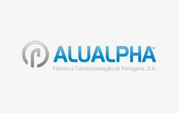 logotipo ALUALPHA